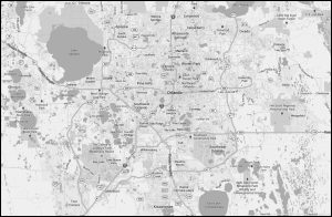 map-of-central-florida-area | Sufii Day Spa | Orlando Florida on