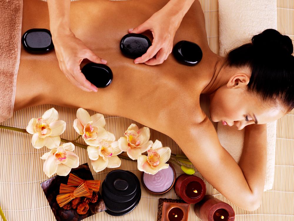 Hot Stone Massage Pics